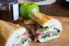 Prosciutto, Apple and Honey Sandwich