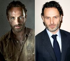 The Walking Dead Cast: What They Look Like on the Red Carpet: Andrew Lincoln