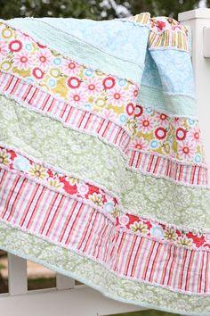 Baby Quilt Patterns | Free Baby Quilt Pattern - Rag Quilt Pattern