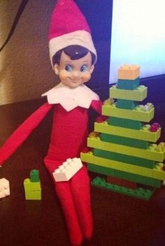 Who else does Elf on the Shelf at Christmas time? If you haven't heard of this Christmas craze, Elf on the Shelf is a little red Elf...
