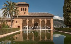 No. 9 Alhambra y Generalife, Grenada, Spain - World's Most-Visited Castles | Travel + Leisure