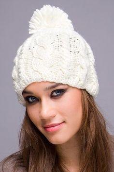 Modelos de gorros de lana - Imagui