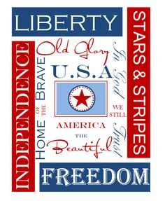 Free 4th of July printables from Anna & Co. Designs