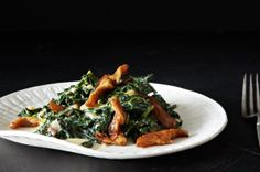 Miso-Creamed Kale from Food 52