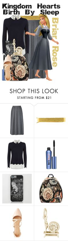 """""""Briar Rose from Kingdom Hearts: Birth By Sleep"""" by imanirine ❤ liked on Polyvore featuring RED Valentino, Andrew Clunn, Ted Baker, Benefit, STELLA McCARTNEY, Charlotte Russe and Rembrandt Charms"""