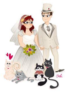 Élise et Raphaël : le mariage