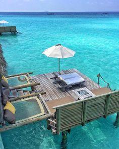 Beautiful Maldives   Via @wildluxe_misha