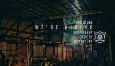 Hello loyal's people, kita membuka kesempatan untuk kalian yang ingin bergabung dengan INSPIRED27 2nd Store. Kirim CV kalian ke: INSPIRED27 STORE JL.Soekarno Hatta D511 MALANG 0341 – 476885  lamaran di tutup pada tanggal 20 Juni 2015  untuk info lengkapnya kunjungi www.inspired27.com