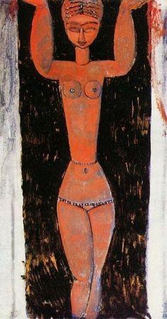 Amedeo Modigliani - Caryatide (1913)