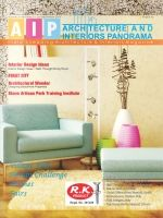 Architecture And Interiors Panorama July-September 2014 featuring Interior Design Idea, Walk Through Dining Room, Village Folk: Design By India, Mexican Huichol, Contemporary House Design, Sweet Stone Facade In A Minimalistic House Architecture.