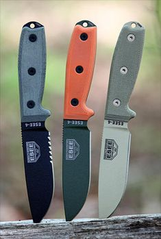ESEE 4  This durable camp knife is a little more expensive. $100