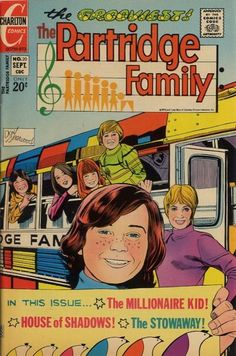 Partridge Family Comic book featuring Danny