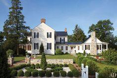 Elizabeth Locke's Federal-Style Virginia Farmhouse Photos | Architectural Digest