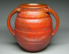 vintage NORTH STATE POTTERY vase