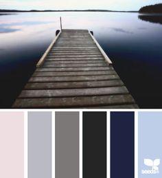 Warme und kühle Blau- und Brauntöne typgerecht kombiniert