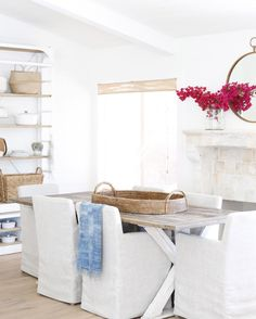 Farmhouse Table And Chairs Restoration Hardware 34 Trendy Ideas Family Dining Rooms, Farmhouse Dining Room Table, Farmhouse Living Room Furniture, Dining Table With Bench, Country Kitchen Farmhouse, Farmhouse Bedroom Decor, Table And Chairs, Dining Chairs, Farmhouse Windows
