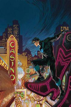 Nightwing Vol 4 Cover B Variant Ivan Reis & Oclair Albert Cover Gotham, Midtown Comics, Arte Dc Comics, Buy Comics, Dc Rebirth, Comic Art Community, Batman Universe, Dc Universe, Lego Batman Movie