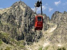 Kabinos libegő a Lomnici-csúcsra