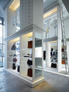 Maison Martin Margiela Nagoya    I'd like something like this in my house/walk in closet :D