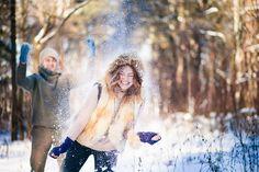 Зимняя love-story в снежном лесу - Февраль 2015 - Babyblog.ru