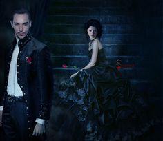 silviya carrier (@silviyas) | Twitter #FanArt #NBCDracula #Dracula #Photomanipulation #JRM #JontahnRhysMeyers #JessicaDeGouw