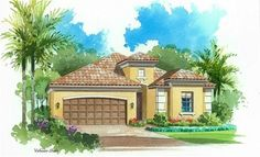 Sophia Elevation - Lennar Homes Twin Eagles Naples FL