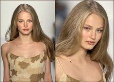 ☽ ♡ ☾ Pretty Makeup, Makeup Looks, Ruslana Korshunova, Honey Blonde Hair, Zombie Girl, Hair Inspo, Face And Body, Supermodels, Natural Hair Styles