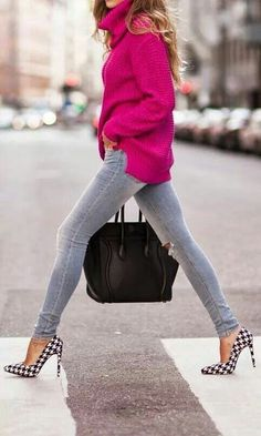 Love the fit of these... Tight, skinny, yet cozy looking. Also like the color and distresssed look