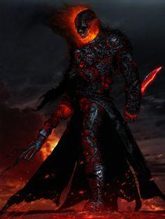 redskullsmadhouse:    Hungry, Ghost Rider fanart by  Çağlayan Kaya Göksoy