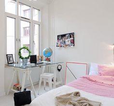 Ideias escandinavas para escritórios em casa - decoração e ideias