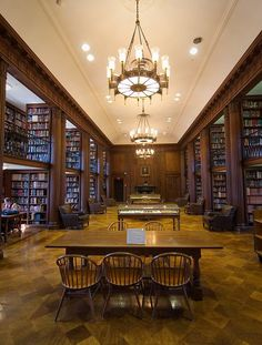 Yale Divinity School library - Spent many hours reading while sitting on the couch in front of the fireplace here in the Day Missions Room of the YDS Library.