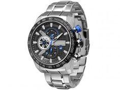 Relógio Masculino Technos OS1AAJ/1P Analógico - Resistente à Água com Cronógrafo