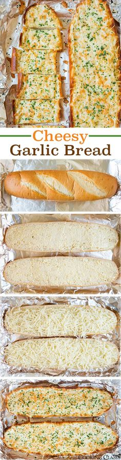 Cheesy Garlic Bread - this bread is AMAZING! I couldn't stop eating it! Love how…