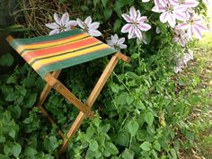 SOLD - Vintage Camping Stool on Etsy, $24.00 CAD