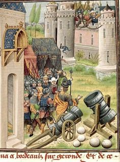 Siege of Pamplona. Jean of Wavrin. Title Recueil des croniques d'Engleterre. Origin: France, N. E. (Lille?) and Netherlands, S. (Bruges). c. XV. Medieval Imago & Dies Vitae Idade Media e Cotidiano