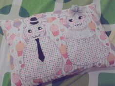 Cute Mini Pillow by Aina Hafizah