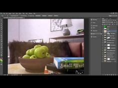 Advanced Post Production Techniques in Photoshop - Interior Scene Part02