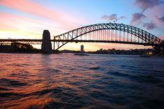 Sydney Harbor Bridge, via Flickr.