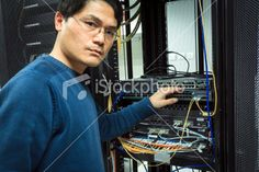 Server Administrator Royalty Free Stock Photo