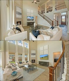If you love a family room with a VIEW, would this one be perfect for YOU?! Village Builders, Living Rooms, Living Spaces, Reasons To Live, New Home Construction, New Homes For Sale, Model Homes, Real Estate Marketing, Dream Homes