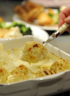 Ten top British recipes, this one is Cauliflower Cheese