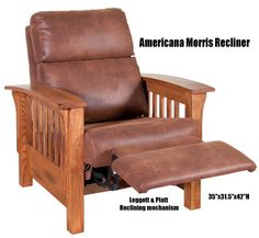 mission style furniture - Mission Style Recliner