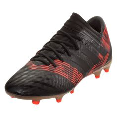 sneakers for cheap 15474 98f49 adidas Nemeziz 17.3 FG Soccer Cleats - Black Black Solar Red