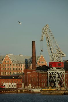 Helsinki port by safpero, via Flickr