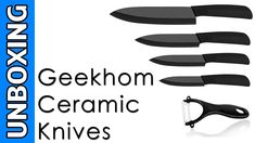 Geekhom Ceramic Knives Unboxing