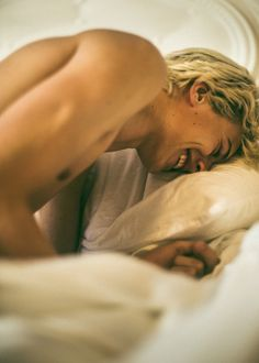 Waking Up With Lucky Blue Smith for Paper Magazine | Photographed by Matt Lambert