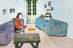 Anuska Allepuz ilustró la materia de Literatura para 1º de ESO en SM.