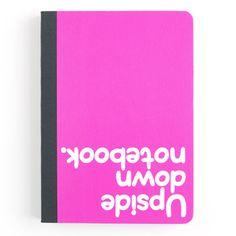 """Waldo Pancake - """"Upside down notebook."""""""