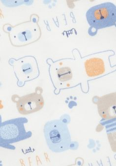 Clothing at Tesco | F&F 2 Pack of Little Bear Bibs > accessories > Newborn > Baby