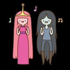 Dulce Princesa y Marceline✌